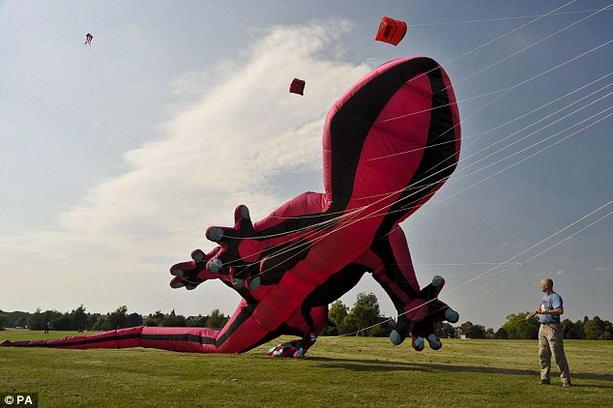 29-метровый воздушный змей