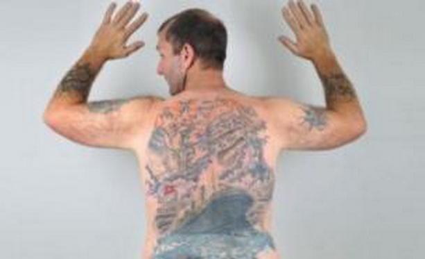 Титаник татуировка