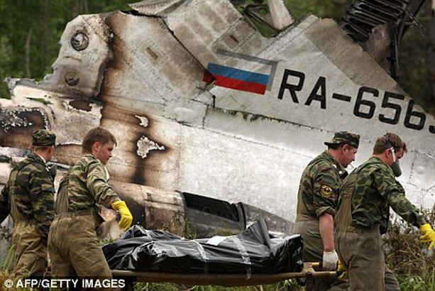 падение Ту-134