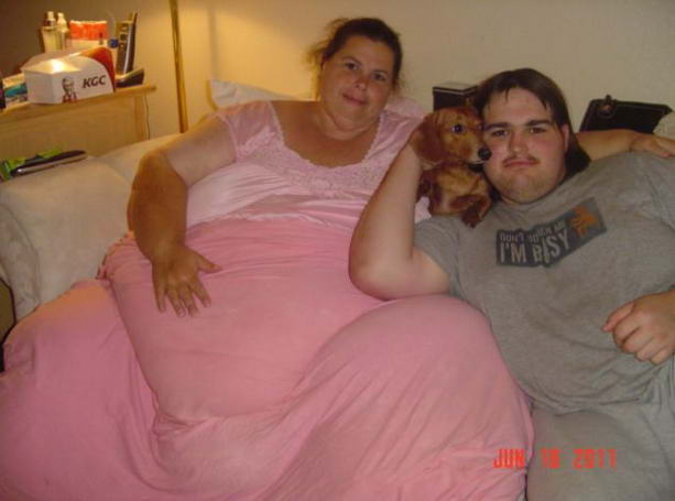 Полин Поттер самая толстая женщина