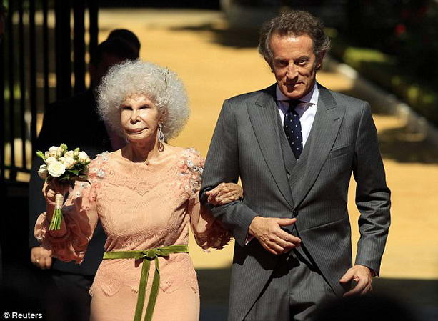 Свадьба испанской герцогини Альбы