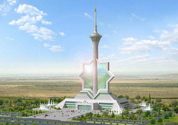 Ашхабад телевизионная башня
