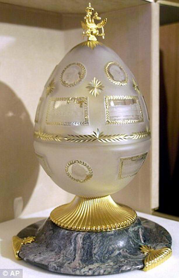 пасхальное яйцо Фаберже