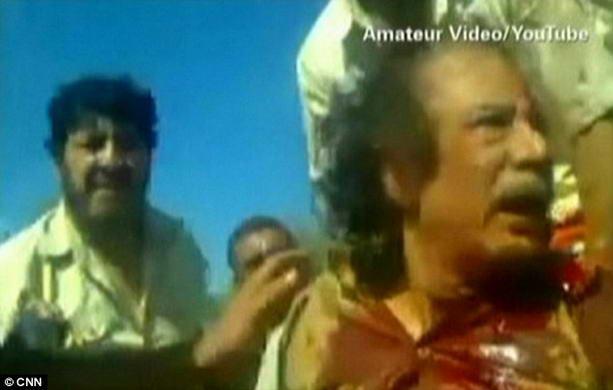 смерть Муаммара Каддафи