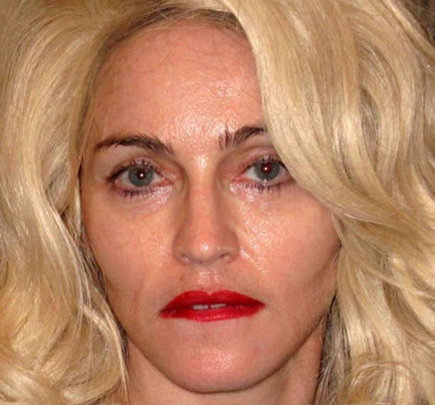 Скандальные фотографии голой Мадонны без Фотошопа опубликованы впервые