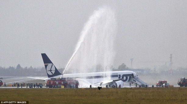 спасение самолета