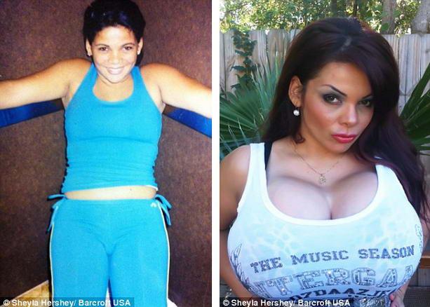 Госпожа с огромной грудью
