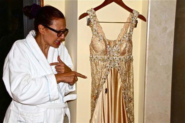свадебное платье Эвелины Блёданс