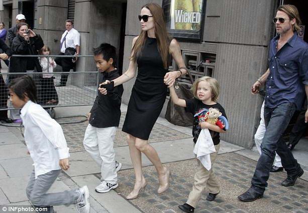 дети Джоли-Питт