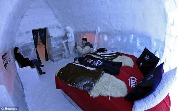 эко-отель из льда