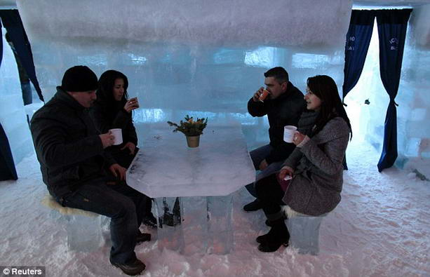 гостиница Balea Lac изо льда