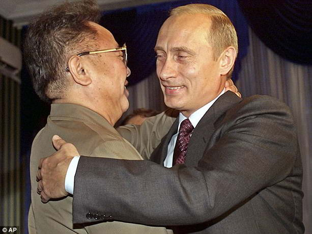 Ким Чен Ир Владимир Путин