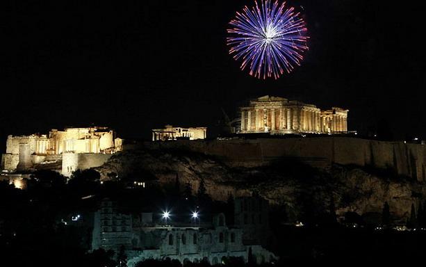 Афинский древний храм