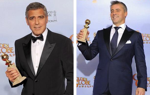 Джордж Клуни Мэтт ЛеБлан