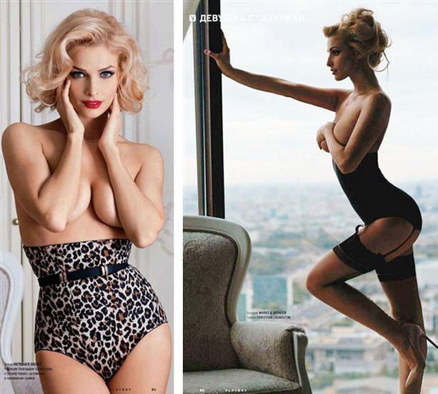 голая Котова Playboy