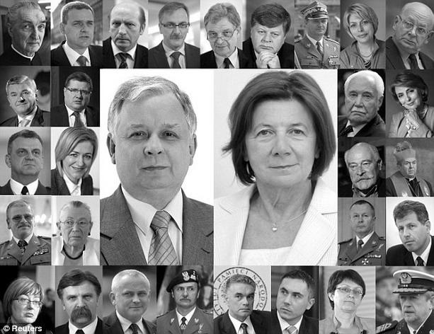 погибший президент Польши Лех Качиньский