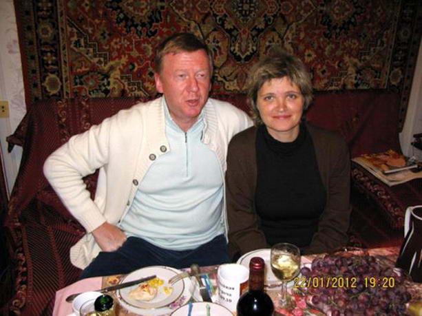 Чубайс Дуня Смирнова свадьба