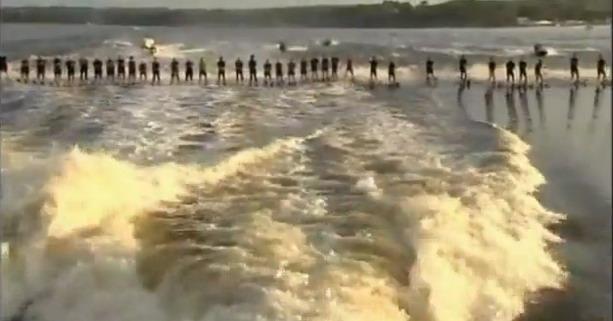 мировой рекорд по катанию на водных лыжах