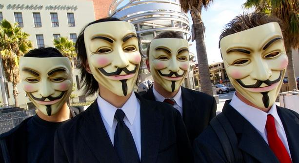 Хакерское движение Anonymous