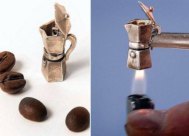 самая маленькая кофеварка