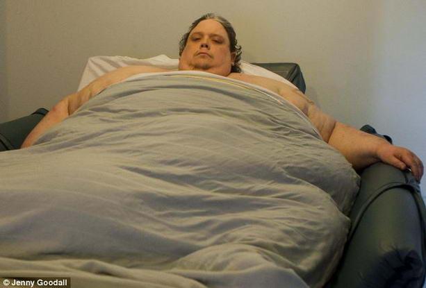 Кит Мартин самый толстый мужчина в мире