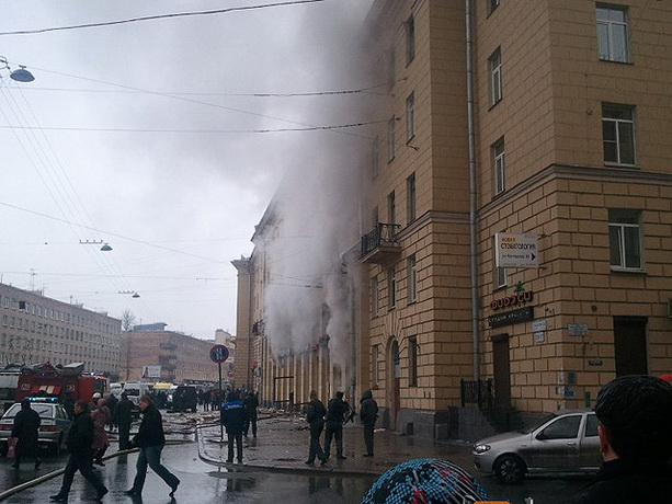 пожар в ресторане «Харбин» в Санкт-Петербурге
