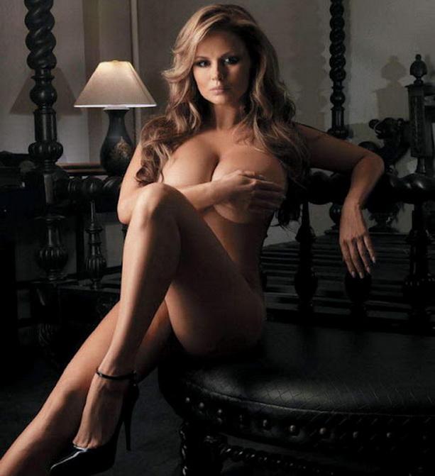голая Анна Семенович Playboy