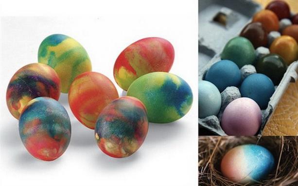 пасхальные яйца креатив