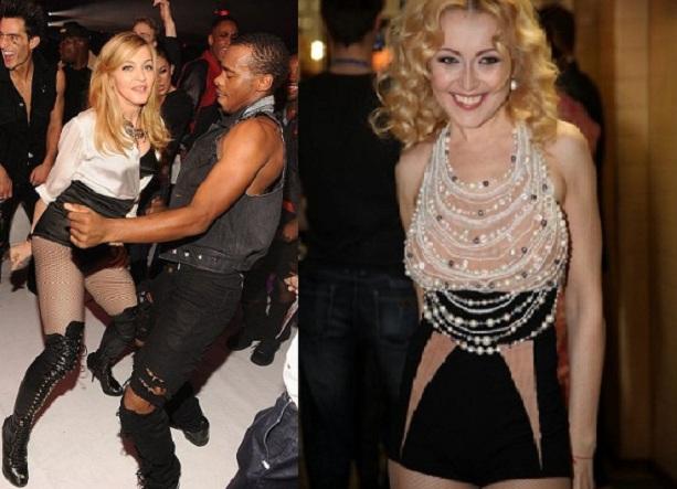 Мадонна и Анжелика Варум