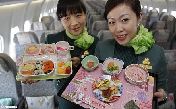 самолет Hello Kitty