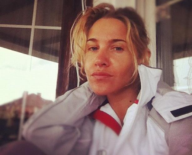 Юлия Ковальчук без макияжа