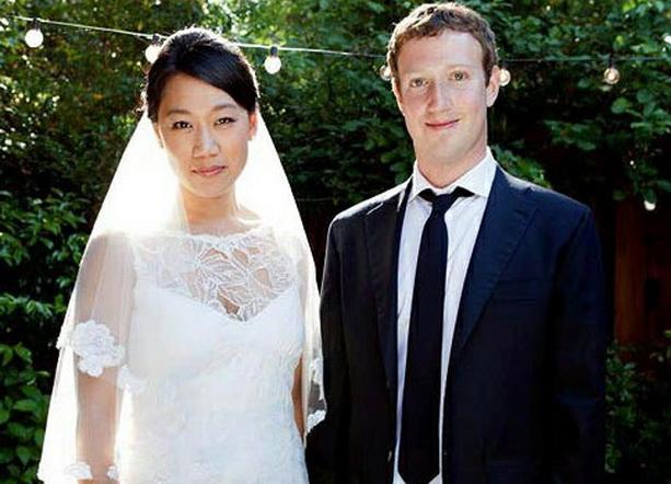 Марк Цукерберг Присцилла Чан свадьба