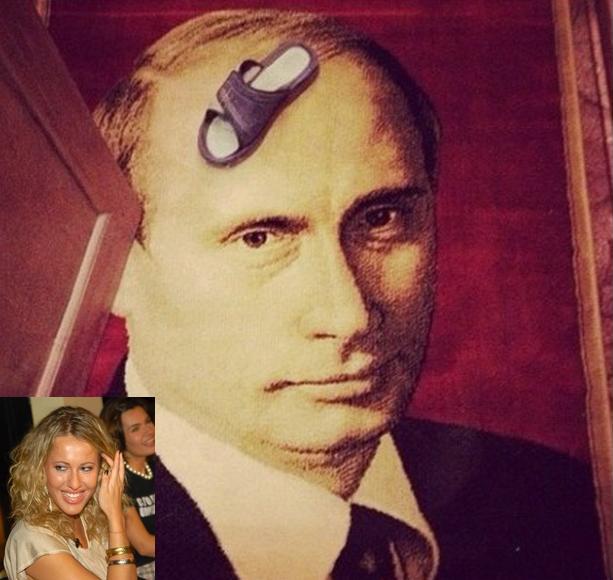 ковер с Путиным