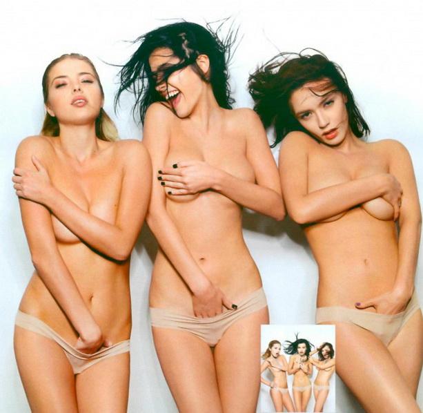 голые девушки Серебро