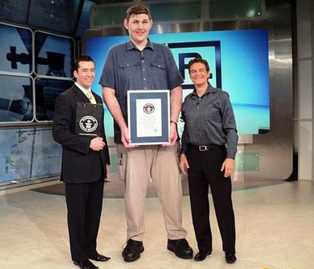 Самый высокий человек США