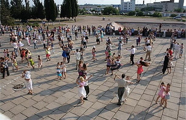 танцевальный рекорд