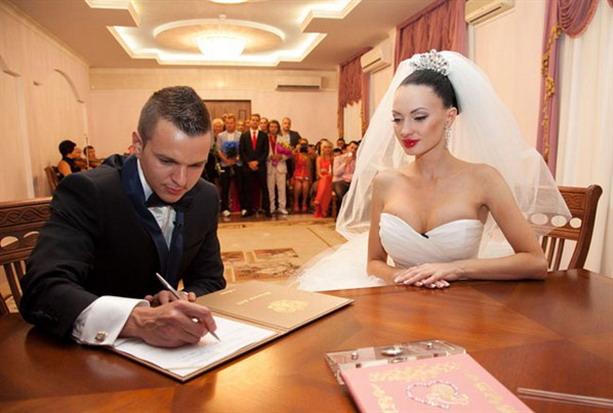 Евгения Феофилактова и Антон Гусев свадьба