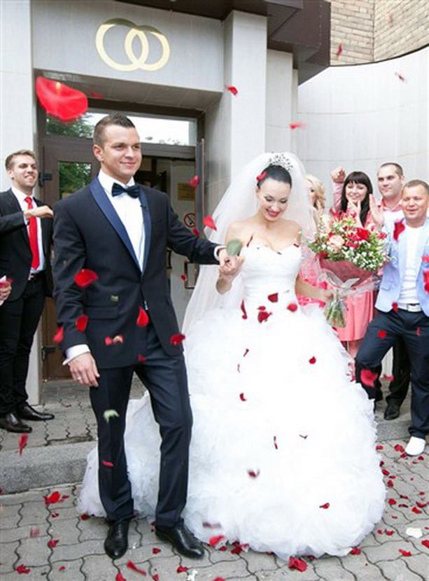 Феофилактова и Гусев свадьба