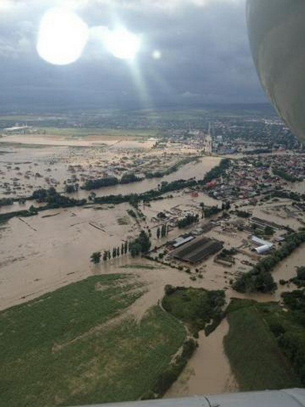 Крымск после наводнения