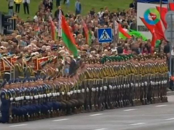 парад в Белоруссии