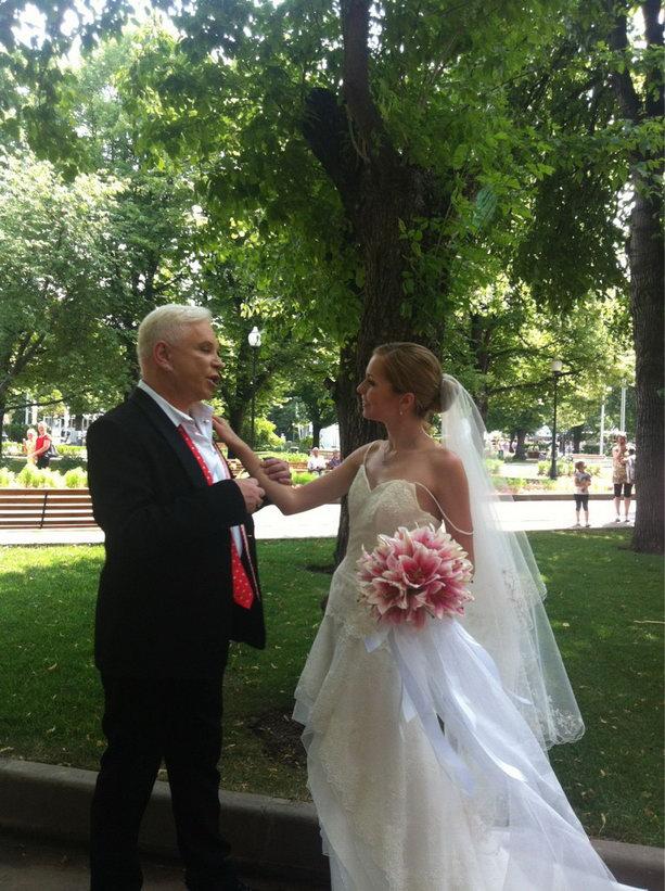 Борис Моисеев с женой