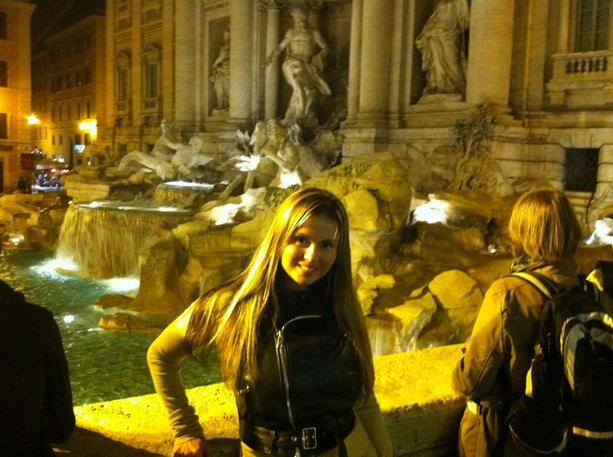 Анна Семенович в Риме