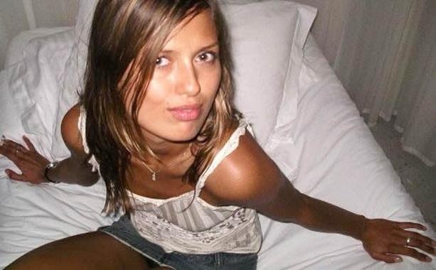 Виктория Боня в юности