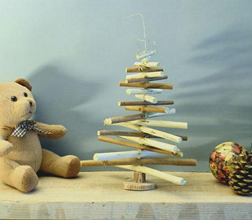 Новогодние поделки своими руками из дерева фото