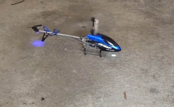 радиоуправляемый вертолет с голосовым управлением