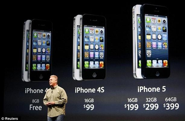 Презентация iPhone 5.