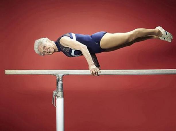 Йоханна Кваас старейшая гимнастка в мире