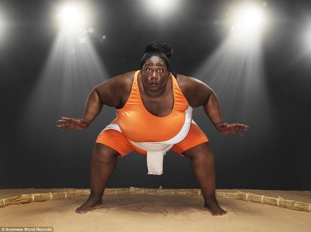 Самая тяжелая спортсменка сумо