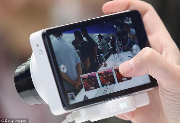 камерофон Samsung Galaxy Camera