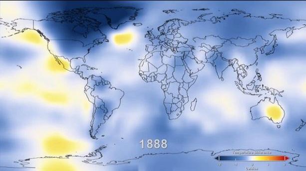 температура на Земле